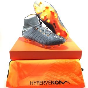 Nike Hypervenom Phantom 3 Elite DF FG Orange Cleat